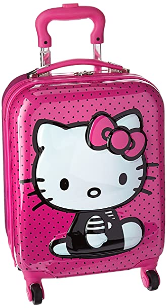 19c263cbfff Image Unavailable. Image not available for. Color  Heys Girl s Hello Kitty  3D Pop Up Spinner