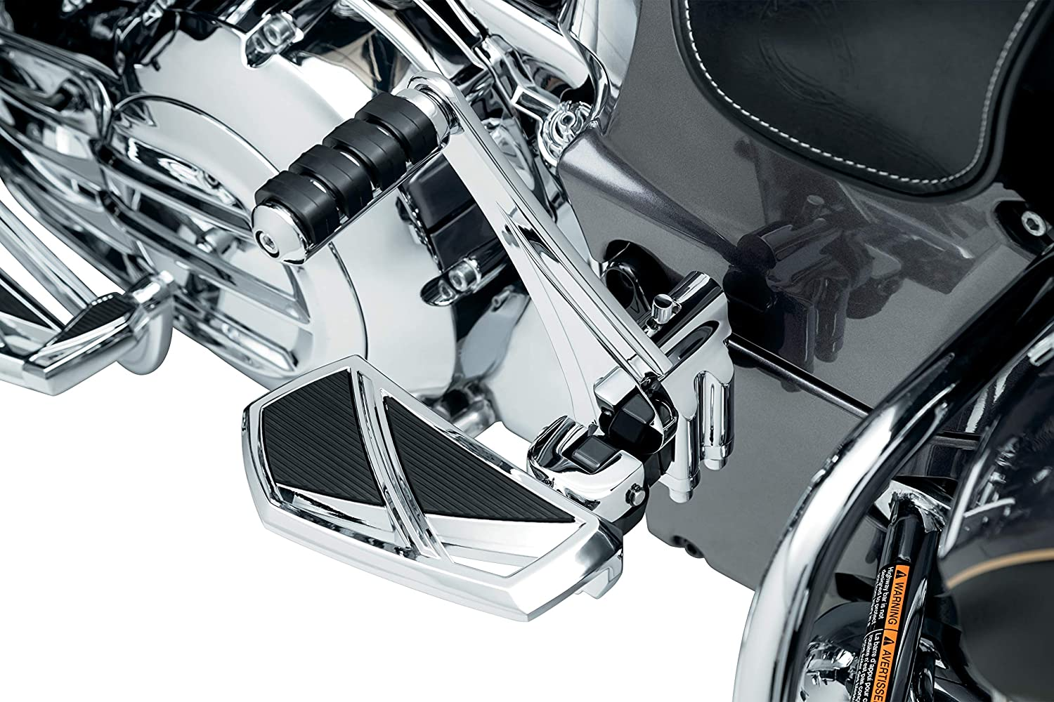 Passenger Board Mounts for 2015-20 Indian Motorcycles Gloss Black 1 Pair Kuryakyn 5831 Motorcycle Foot Control Component