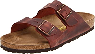 Men's Arizona Slide SandalsBrown46 M EU / 13-13.5 D(M) US