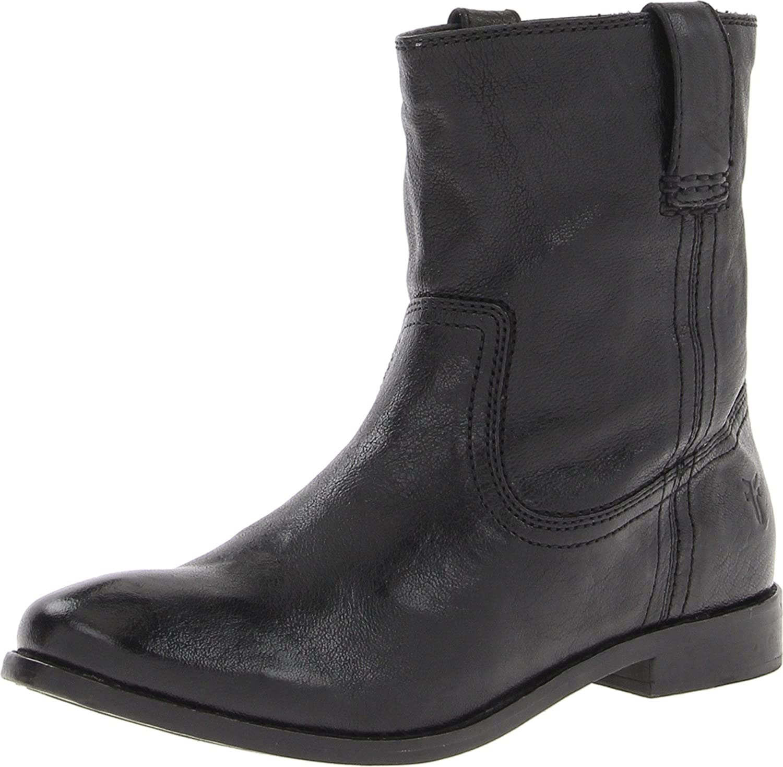FRYE Women's Anna Shortie Boot B00AME06MG 7.5 B(M) US|Black-71055