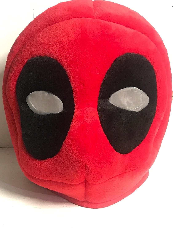 Maskimals Deadpool Plush Oversize Head Costume Marvel Halloween