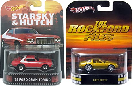 Amazon com: Hot Wheels Retro Entertainment 70's TV Action Starsky