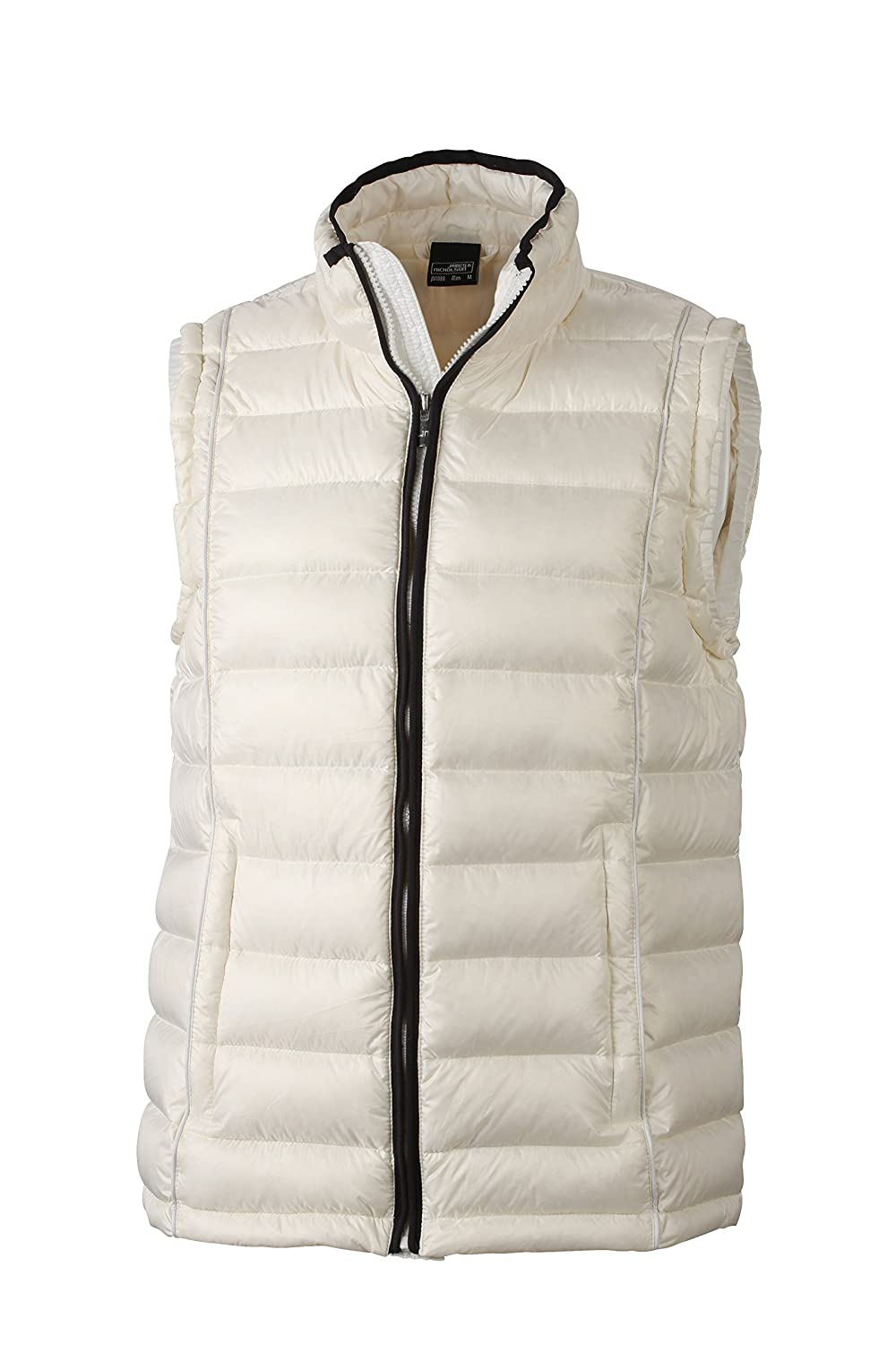 James & Nicholson Daunenweste Men's Quilted Down Vest Chaqueta, Hombre