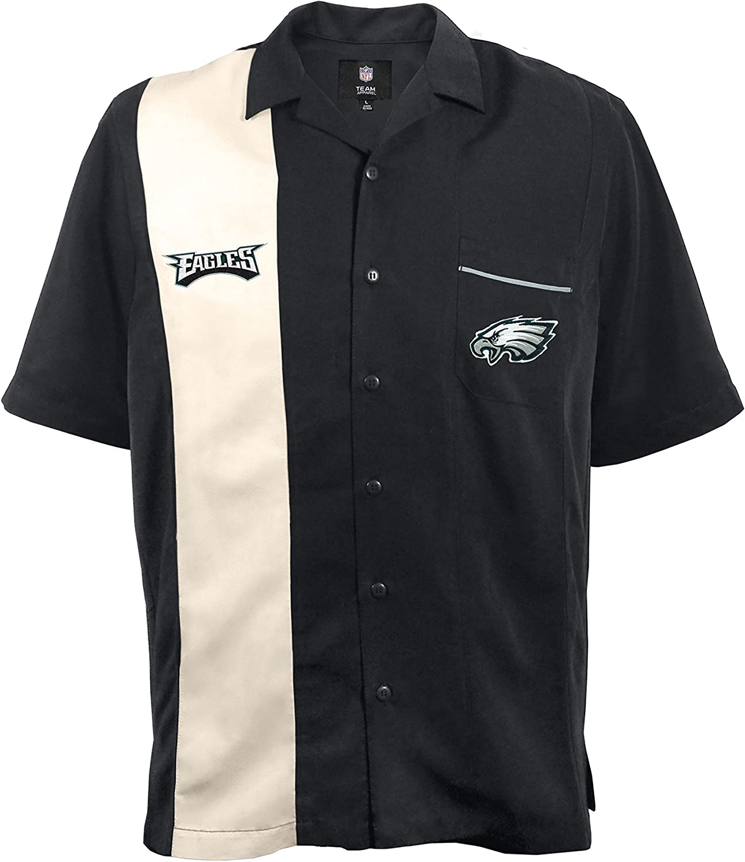 NFL Philadelphia Eagles Strike Bowling Shirt XXL