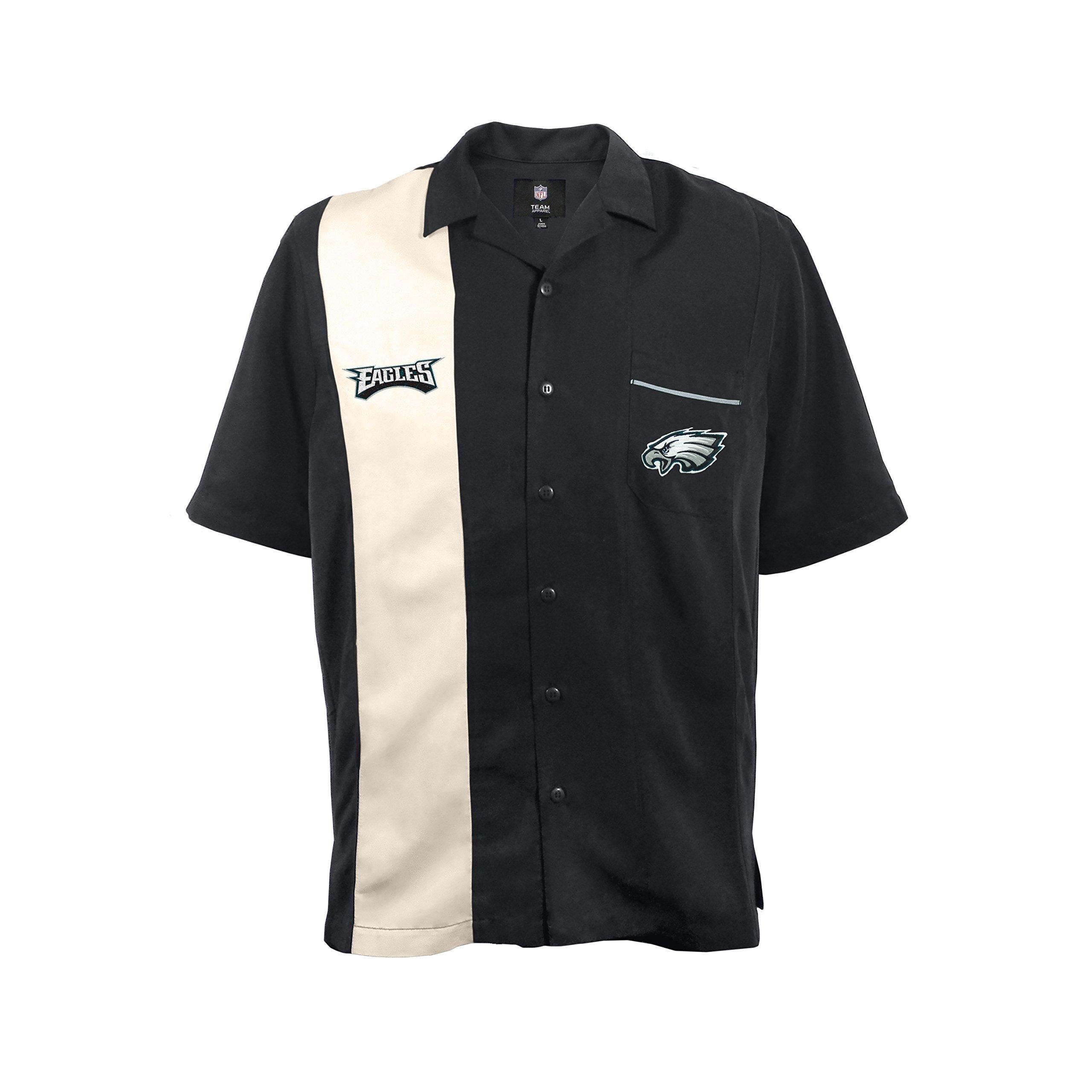 NFL Philadelphia Eagles Strike Bowling Shirt, XL by Littlearth