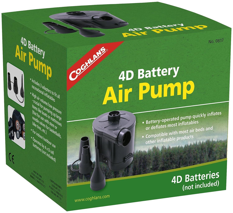 Coghlan's Electric portable air mattress pump