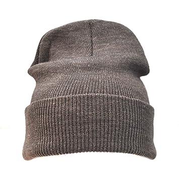 20 x Plain Grey Warm Winter Unisex Beanie Hats Wholesale  Amazon.co.uk   Kitchen   Home bb7de9166ef