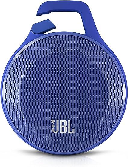 Jbl Clip Bluetooth Wireless Lautsprecher Leicht Tragbar Aufladbar Draußen Wasserabweisend Mit Integriertem Karabinerhaken Kompatibel Mit Apple Ios Android Smartphones Tablets Mp3 Geräten Blau Heimkino Tv Video