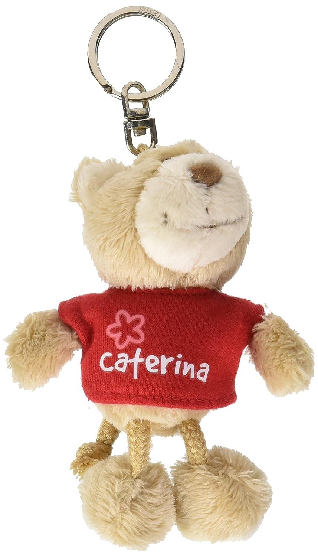 NICI n15785 - Llavero Oso con Camiseta Caterina, Rojo ...