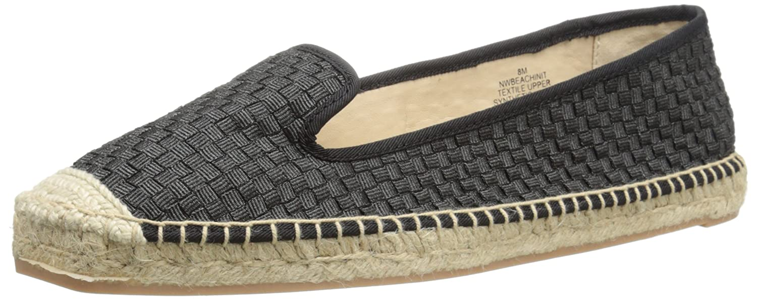 Nine West Women's Beachinit Fabric Espadrille B00SH10OJQ 6 M US|Black