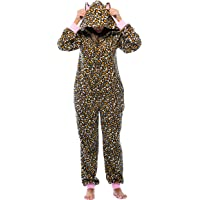Just Love Adult Onesie with Animal Prints/Pajamas