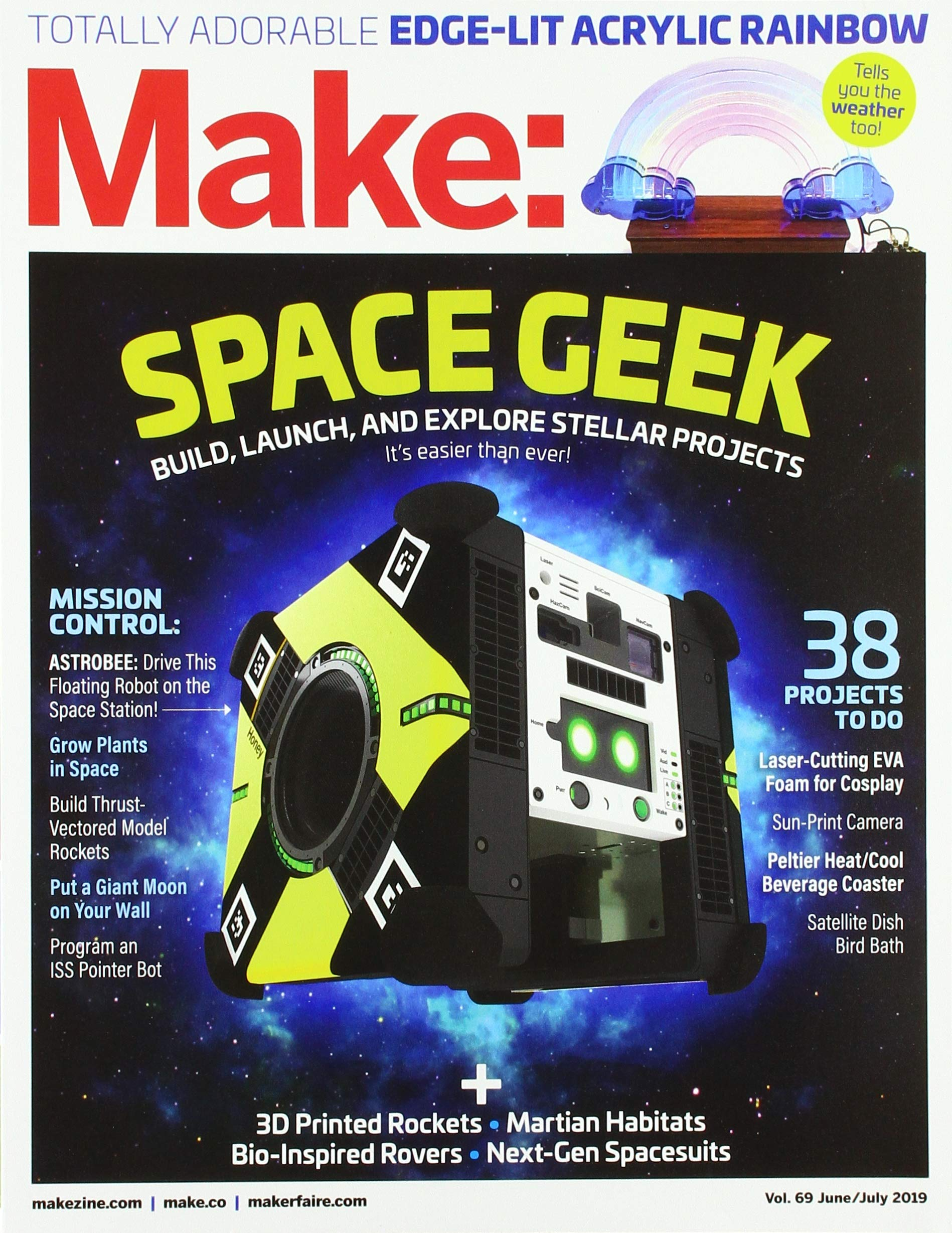 Make: Volume 69: Amazon co uk: Mike Sense: 9781680455830: Books