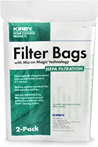 Kirby Allergen Plus Micron Magic Hepa Bags 2 Pk Part - 205814 by Kirby