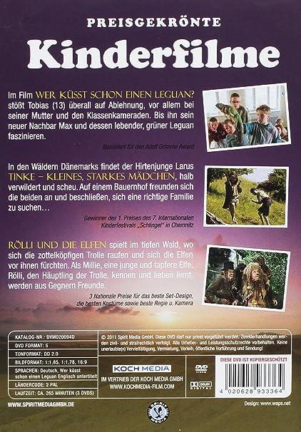 Preisgekrönte Kinderfilme 3 Dvds Amazon De Sarah Juel