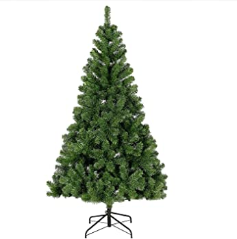 CHEERSON 7.5 ft Artificial Evergreen Christmas Tree