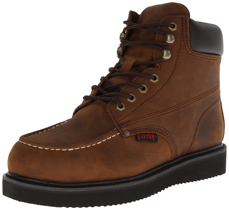 Ferrini Men's Trekker Steel Toed Work Shoe