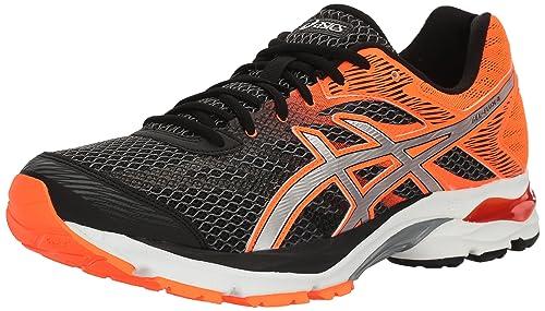 de9ad71f22 Asics Gel Flux 4 Hombre US 7 Negro Zapato para Correr  Amazon.es  Zapatos y  complementos