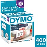 DYMO 30258 LabelWriter Self-Adhesive Diskette Labels for 3 1/2-inch disks, 2 1/8- by 2 3/4-inch, White, Roll of 400