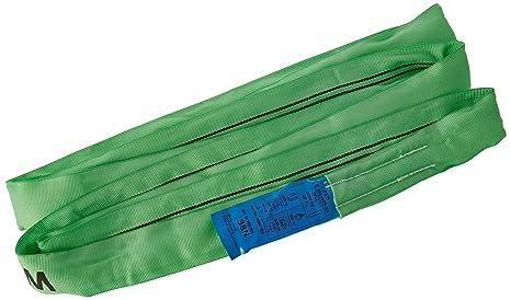 lunghezza utile continua con nucleo in poliestere verde Braun 20031RS recupero strap loop carico 2000/kg 3/m con 1.5/m