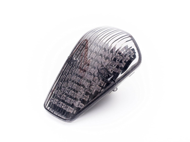 Motorcycle LED TAIL LIGHT FOR HONDASmoked Lens Rated over 4500 Lumens Honda VTX 1300//1800 CUSTOM