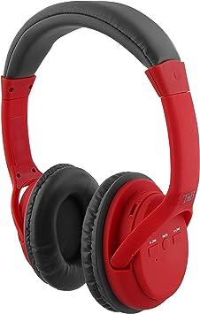 Auriculares 2 en 1 de Color Rojo: Inalámbricos y con tecnología con Bluetooth Wireless: Amazon.es: Electrónica