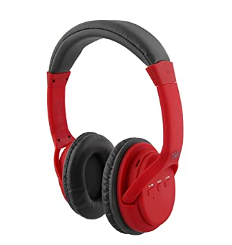 Auriculares 2 en 1 de Color Rojo: Inalámbricos y con tecnología con Bluetooth Wireless: Amazon.es: Electrónica