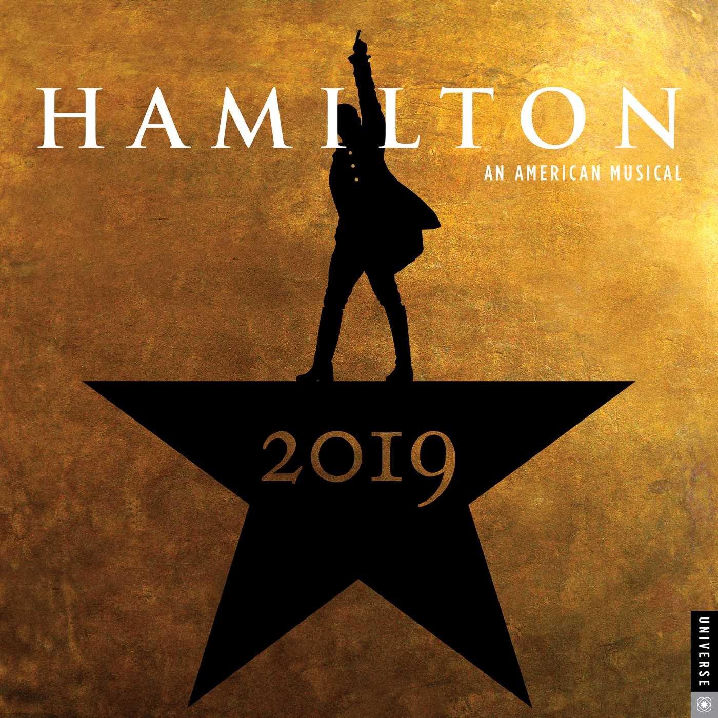 Hamilton 2019 Wall Calendar: An American Musical: Hamilton ...