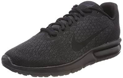 hot sales e4c7e 03486 Nike Herren AIR MAX Sequent 2 Fitnessschuhe Schwarz Black 015, 40 EU