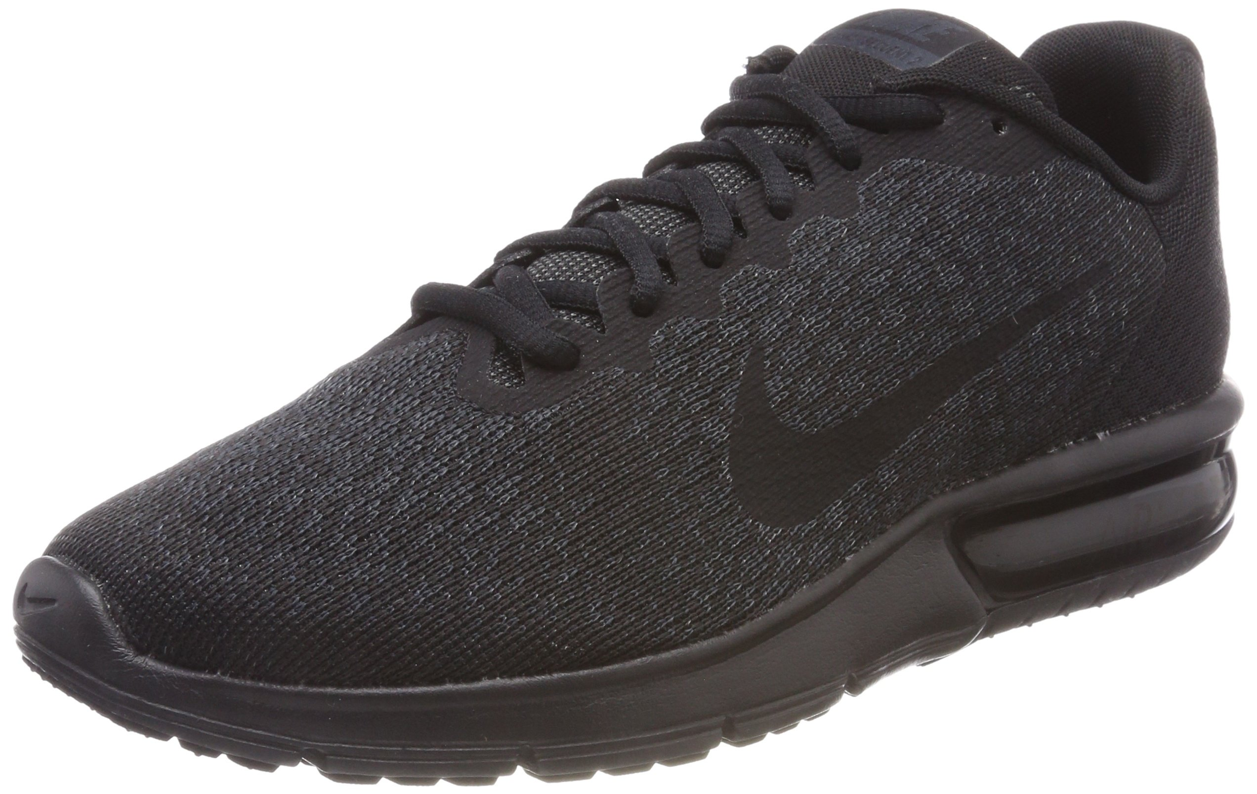 49a0745565 Galleon - NIKE Men's Air Max Sequent 2 Running Shoe (13 D(M) US, Black/Black )
