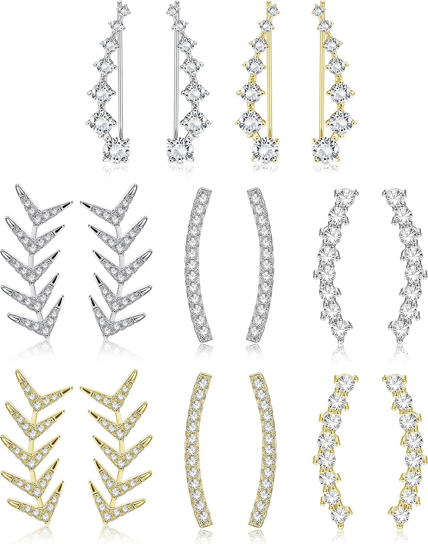 Finrezio 8Pairs Ear Cuffs...