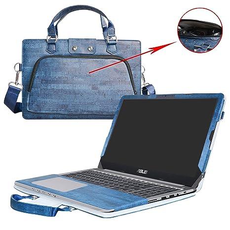 Asus K501UB K501UQ K501UW Funda,2 in 1 Diseñado especialmente La Funda protectora de cuero