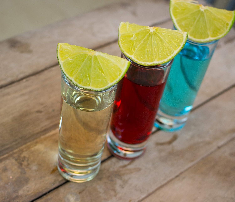 cutehom Tall Tequila – Vasos de chupito – Juego de 6 copas de ...