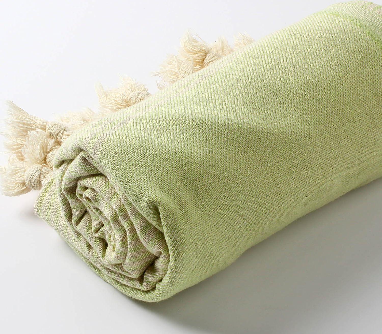 Cacala Hand Loomed Pestemal Striped Turkish Bath Towel 34x66/%100 CottonTM Black