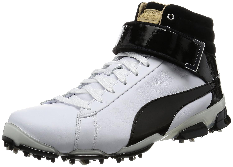 [プーマゴルフ] ゴルフシューズ タイタンツアー イグナイト ハイトップ SE 189897 B01EWYR3A4 28.0 cm プーマ ホワイト-プーマ ブラック