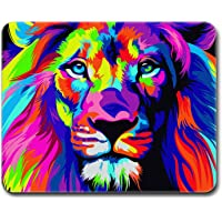 MOUSE PAD GAMER LEÓN MULTICOLOR, 27 x 21 cm, BASE ANTIDESLIZANTE, SUPERFICIE DE PRECISIÓN OPTIMA
