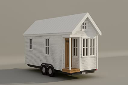 Build your own 170 sq ft tiny house with loft on wheels diy plans