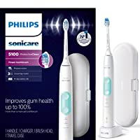 Philips Sonicare HX6857/11 ProtectiveClean 5100 Rechargeable Electric Toothbrush...