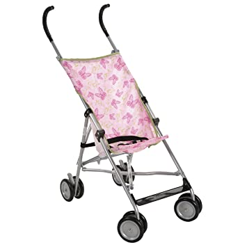 Cosco Umbrella Stroller without Canopy Butterfly Dreams (Discontinued by Manufacturer)  sc 1 st  Amazon.com & Amazon.com : Cosco Umbrella Stroller without Canopy Butterfly ...