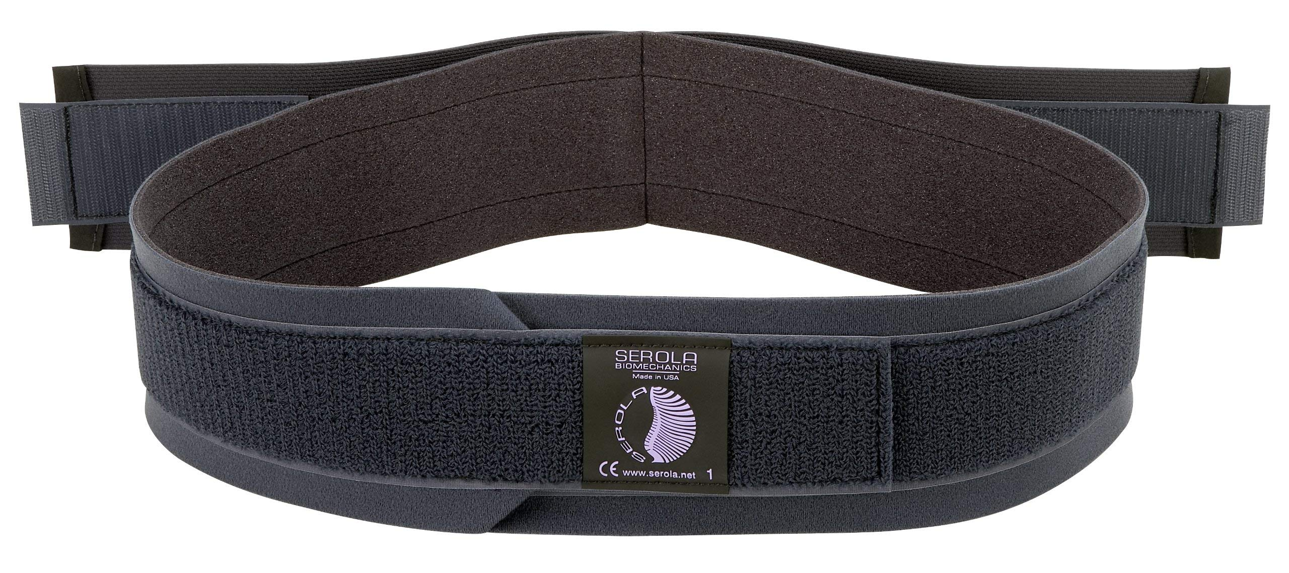 Serola Maternity Support Belt, Medium, Sacroiliac Belt, Pregnancy, Comfortable Pelvic Support for Waist, Back, and Abdomen, Belly Band Brace, Relieves Lower Back Pain and Supports Instability