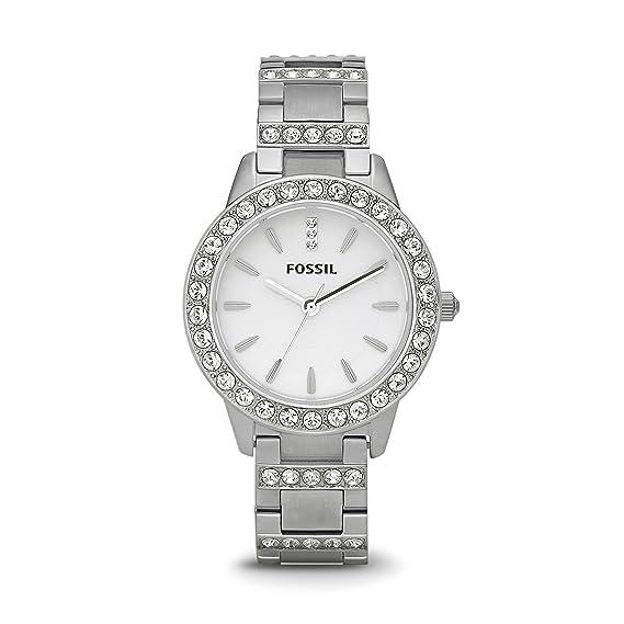 Fossil Reloj Análogo clásico para Mujer de Cuarzo con Correa en Acero Inoxidable ES2362: Fossil: Amazon.es: Relojes
