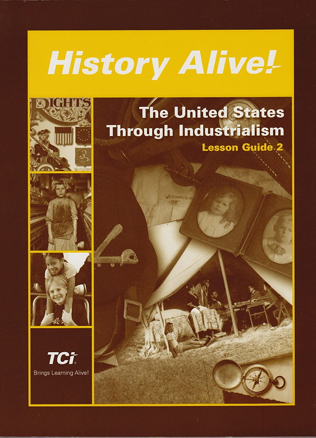 Amazon.com: History Alive: The United States Through Industrialism - Lesson  Guide 2 - Lessons 15-29: Editor Alavosus Laura: Health & Personal Care