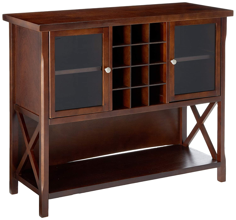 Winsome Xola Buffet Cabinet, Cappuccino