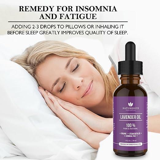 all natural organic sleep aid pure organic lavender essential oil