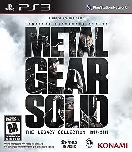 Metal Gear Solid: The Legacy Collection (Sin Libro) [Importación USA]