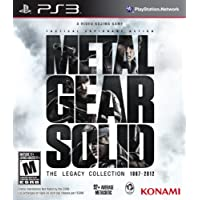 Metal Gear Collection The Legacy Collection PS3