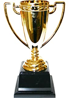 12 X Kunststoff Pokal Sieger Trophae Sieger Gold 10 Cm