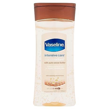 Vaseline Vaseline Intensive Care Cocoa Radiant Body Gel Oil, 6 8 Ounce