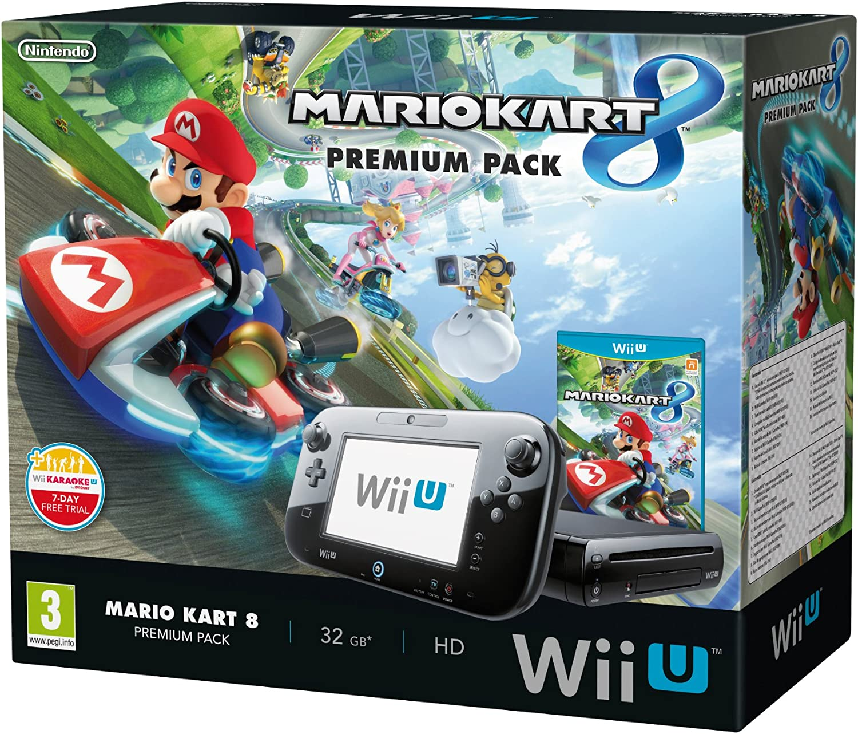 Nintendo Wii U - Premium Pack: Consola + Mario Kart 8: Amazon.es ...