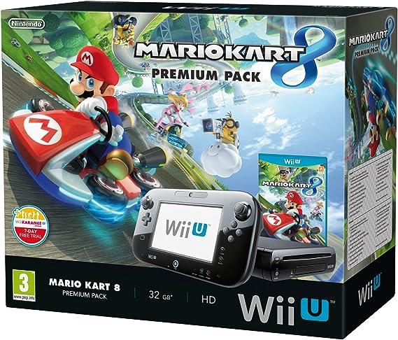 Nintendo Wii U - Premium Pack: Consola + Mario Kart 8: Amazon.es: Videojuegos