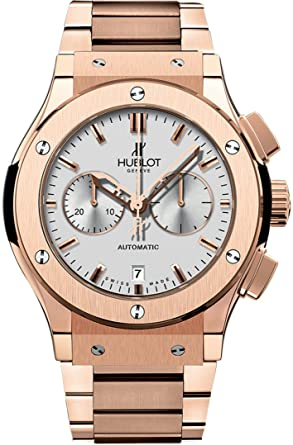 79cad742dce Image Unavailable. Image not available for. Color: Hublot Classic Fusion  18ct Rose Gold ...
